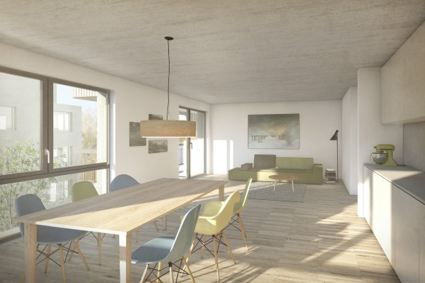 KLR Architectes, Architecture, Architektur, interiordesign, Seelisberg, Nidwald, rendering, visualisation, visualisierung, images, render